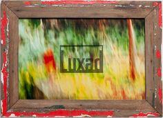 Grablicht - Fotokunst von Corinna Noack inkl. Bilderrahmen aus recyceltem Holz
