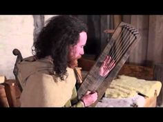 Trossingen Lyre (6th century Germanic Lyre) - This video shows Corwen Broch playing his reconstruction of the lyre found recently at Trossingen in Germany. The lyre has six nylgut strings (gut can be substituted on request), a body carved from oak and (unlike the original which had an oak soundboard) a maple soundboard for extra volume. Unlike Anglo-Saxon lyres the Germanic lyres have a one piece body without a separate yoke.  These instruments are for sale at www.ancientmusic.co.uk