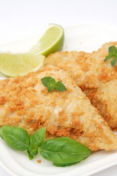 Almond-Crusted Tilapia with Parmesan Cheese Recipe