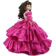 Doll Q2046 Quinceanea Dolls - Free shipping over $60 at www.misquinceano.com