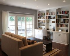 Home Office Built-in Desk Design, Pictures, Remodel, Decor and Ideas - page 7