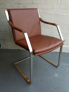 ASTOR ARMCHAIR Italian Leather OFFICE CHAIR Premium Quality Matt Blatt MODERNISM