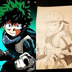 Some artwork by my little man! Drawing Sketches, Drawings, Little Man, My Hero Academia, Joker, Boys, Artist, Artwork, Anime