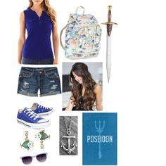 Daughter of Poseidon Made this on polyvore!! -Natalie