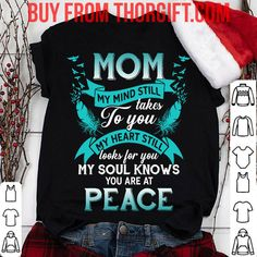 Mom you are at peace | Mom Gifts | Mom Shirts | Gifts For Mom | Gift Ideas For Mom – Fine Public Mothers Day Shirts, Presents For Mom, Mom Gifts, Best Mom, Public, Peace, Gift Ideas, Clothes For Women, Tees