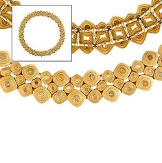 Alex Sepkus: 18K Pebble Necklace