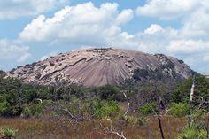 Enchanted Rock between Llano & Fredericksburg. Enchanted Rock, Texas Hill Country, Geocaching, Rock Climbing, Stargazing, Mount Rainier, The Rock, Travel Pictures, Photo Credit