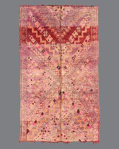 Vintage Moroccan Beni M'Guild Carpet BG60