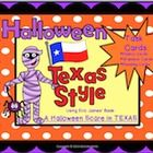 This Halloween Unit uses a Texas Themed Halloween book, A Halloween Scare in Texas, written by Eric James  It is TEKS correlated/Common Core It has...