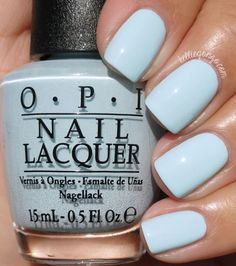 Hi everyone! Today I have the latest OPI collection to show you, SoftShades 2016, the Pastel collection! There are six shades all in light, fluffy pastel tones. The formulas on these is almost crelly-