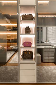 Bedroom Closet Design, Closet Designs, Home Design Decor, House Design, Modern Closet, Closet Layout, Closet Remodel, Dressing Room Design, Stylish Bedroom