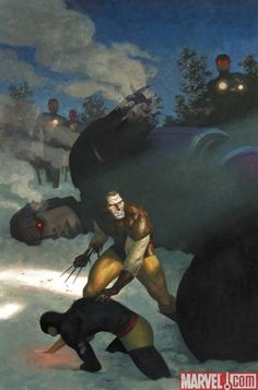 Wolverine Art Appreciation variant cover by Paolo Rivera in the style of #Wyeth