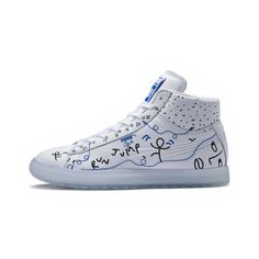 4d6e13835cf3 Image 1 of PUMA x SHANTELL MARTIN Clyde Mid Sneakers