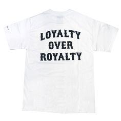 RAW LOYALITY OVER ROYALTY POCKET TEE