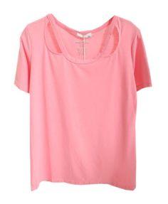 Candy Color Cotton T-shirt