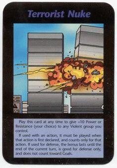 Terrorist Nuke terrorystyczny atak nuklearny