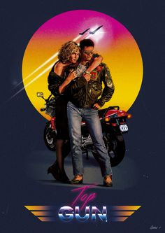 Movie Poster Movement — Top Gun by Mike Gambriel