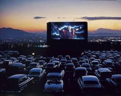At the Drive In.  So many memories...and more to make because they are still around here~