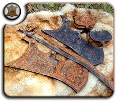 Turkish quiver sets Hatice Turhans and Love Hearts by Lucky-Leather.deviantart.com on @DeviantArt