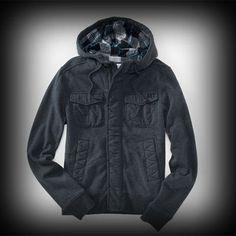 Aeropostale メンズ ジャケット エアロポステール Hooded A87 FullZip Jacket ジャケット-アバクロ 通販 ショップ-【I.T.SHOP】