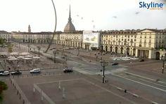 Live Webcam Torino - Piazza Vittorio Veneto
