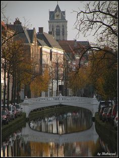 Autumn in Delft