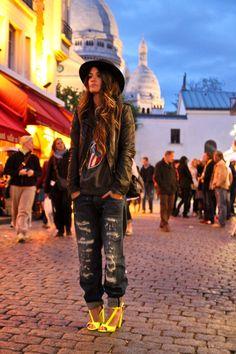 zara jeans, urban outfitters jumper, zara shoes, topshop jacket, chanel bag. 5/23/12