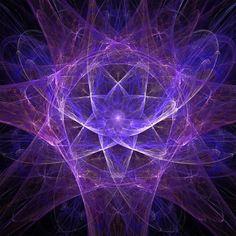 Quantum Energy Fractal Mandala - Keith Allan Kay