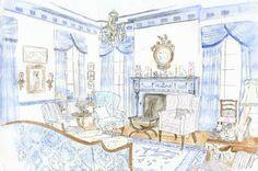 Design Book:                                         The Pretty and Proper Living Room