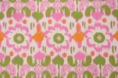 Premier Prints Rio Printed Cotton Drapery Fabric in Gumdrop Natural $7.48 per yard