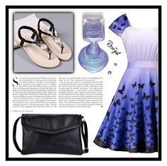 """Pearl Blue"" by amra-sarajlic ❤ liked on Polyvore featuring Kershaw"
