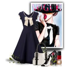 "I love this Vogue look! ""In vogue with nars"" by countrycousin on Polyvore"
