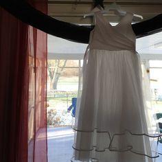 Flower girl dress worn once White size kids 14 Dresses