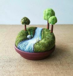Playscape for Grown-ups Movable Mini Trees Made To Order