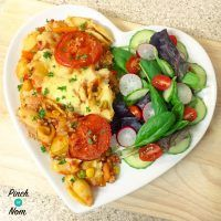 Syn Free Spicy Cajun Pork and Pasta Bake Slimming World Healthy Eating Recipes, Diet Recipes, Cooking Recipes, Healthy Food, Savoury Recipes, Healthy Dinners, Pasta Recipes, Recipies, Slimming World Dinners