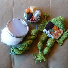 Knitting in Biology 101 DIY Kit by aKNITomy on Etsy