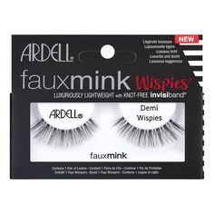 bfde400b7f2 Ardell Eyelash Demi Wispies Faux Mink Black 1pr Eyelash Extensions, Eyelash  Extension Removal, Get
