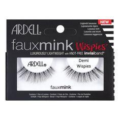 4959f5e2d15 Ardell Eyelash Demi Wispies Faux Mink Black 1pr Eyelash Extensions, Eyelash  Extension Removal, Get
