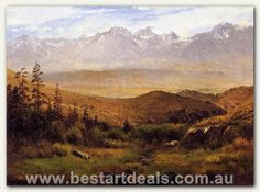 Bierstadt_Albert_In_the_Foothills_of_the_Mountais