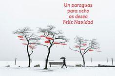 Merry Christmas from Un paraguas para Ocho!!