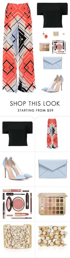 """Sin título #4902"" by mdmsb ❤ liked on Polyvore featuring T By Alexander Wang, Capucci, Gianvito Rossi, Rebecca Minkoff and Nancy Newberg"