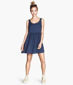 Vestido estampado H&M