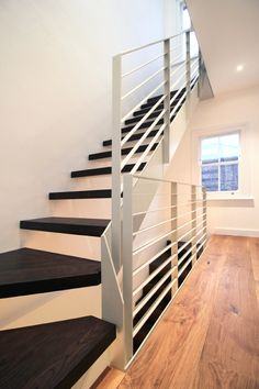 Richard's Staircase and Balustrade - Design + Weld