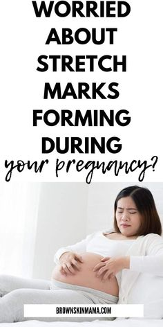 Learn how to get rid of and find out what causes stretch marks during pregnancy Pregnancy Timeline, Pregnancy Care, Pregnancy Health, First Pregnancy, Pregnancy Workout, Third Trimester Workout, Second Trimester, Stretch Marks During Pregnancy, Organic Makeup