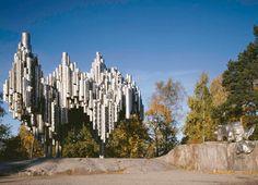 Sibelius-monumentti by Eila Hiltunen - Helsinki, Finland    Eila Hiltunen (22 November 1922, Sortavala – 10 October 2003, Helsinki), Finnish sculptor. -  http://fi.wikipedia.org/wiki/Eila_Hiltunen      http://en.wikipedia.org/wiki/Sibelius_Monument_(Helsinki)