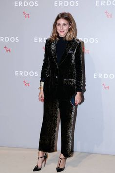 American socialite Olivia Palermo poses at Erdos F/W 2017 Fashion Show on August 29 2017 in Beijing China