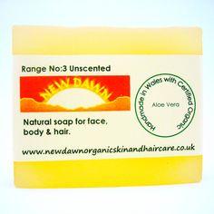 Aloe Vera Organic Soap  Natural Skin Care by NewDawnOrganicSkin