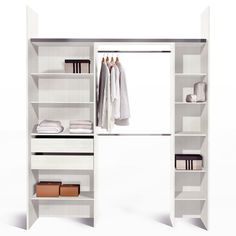 1000 images about dressing on pinterest ikea pax - Rangement dressing pas cher ...