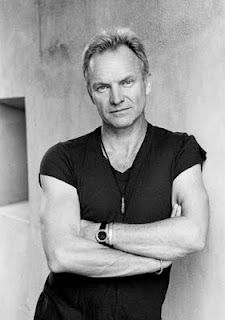 Sting!  My favorite singer and he's sexy!