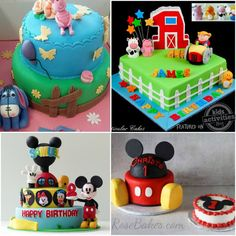 Every birthday we want to outdo the last by creating the coolest birthday cake ever! If you are planning a birthday party, you might want to check out Birthday Cake Kids Boys, First Birthday Cakes, Birthday Ideas, Scary Cakes, Piggy Cake, Sweet Pizza, Lion Cakes, Snowman Cake, Ballerina Cakes